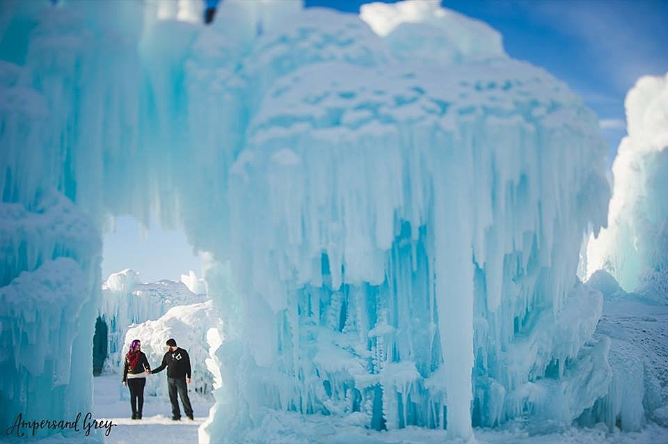 ice castles are coming