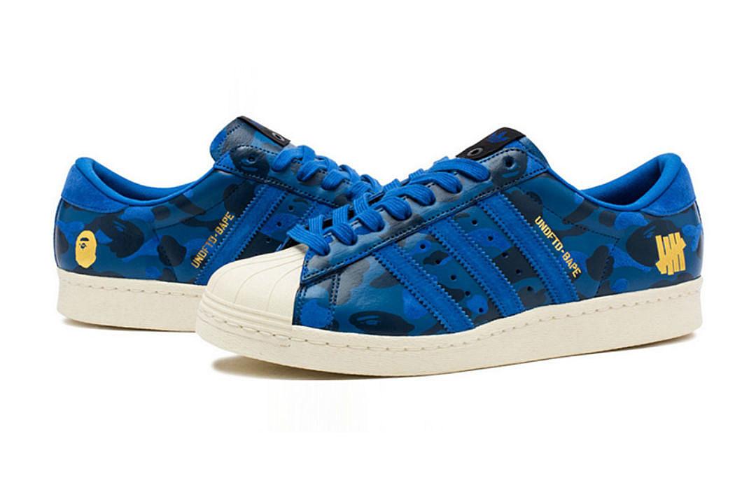 Bape x UNDFTD x Adidas Superstar 80s - XXL