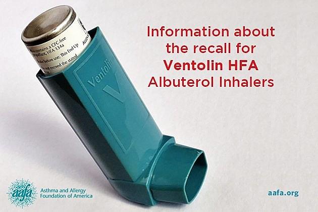 RECALL ALERT: Nearly 600K Asthma Inhalers Being Recalled