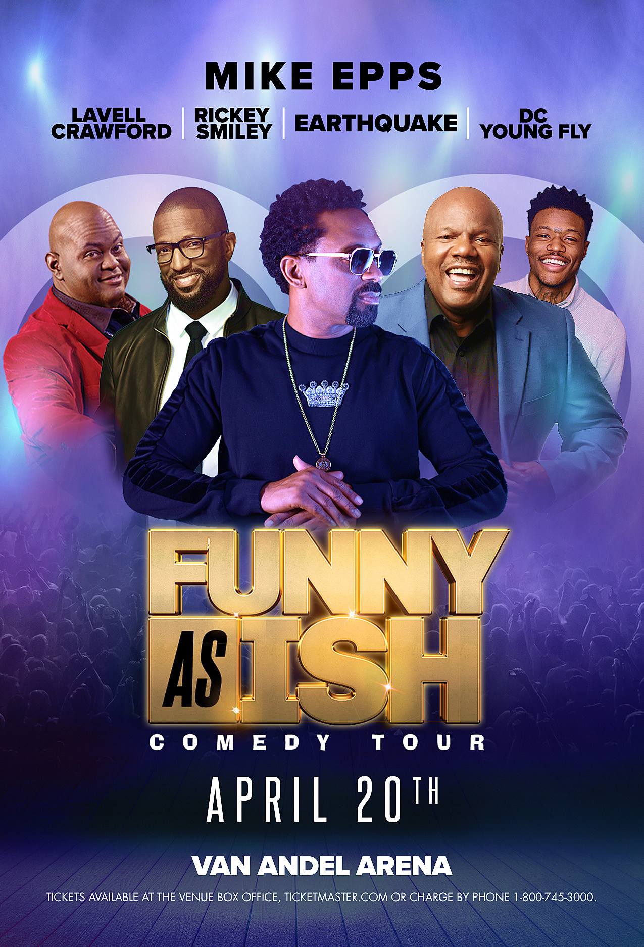 Funny As Ish Tour Dates 2019 : funny, dates, Magic, 104.9, Welcomes, Funny