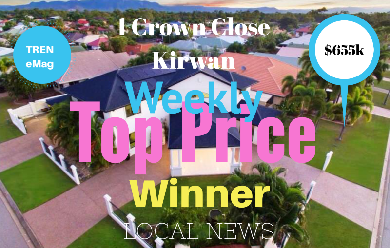 Kirwan - Aerial View of 1 Crown Close