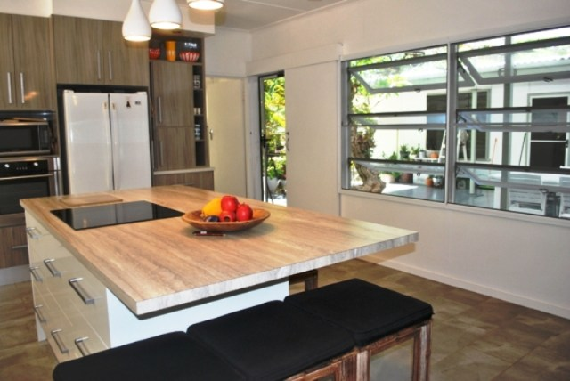 Magnetic Island - Kitchen of 3 Endeavour Road Arcadia off Townsville North Queensland
