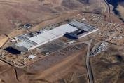 Battary Gigafactory - Ariel view of a Tesla Battery Gigafactory in United States similar to the one proposed for Townsville North Queensland