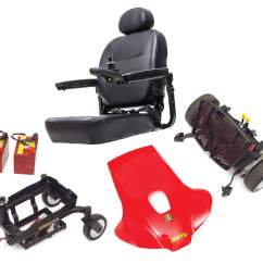 Jazzy Power Chair Troubleshooting Outdoor Bistro Pads Elite Es Portable Wheelchair By Pride Baltimore