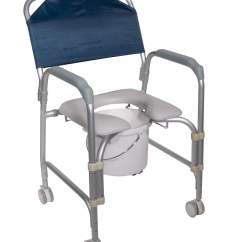 Does Medicare Cover Shower Chairs French Arm Lightweight Portable Chair Commode With Casters