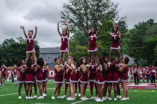 small resolution of a goodbye to fall cheerleading