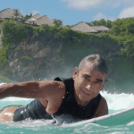 Gerry Lopez returns to Uluwatu 40 years after he first surfed the wave in 1974