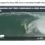 Strapped-In Step-Offs from a Standup Paddle Board