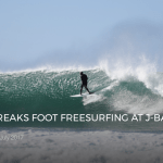 KELLY SLATER BREAKS FOOT FREESURFING AT J-BAY