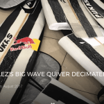 NATXO GONZALEZ'S BIG WAVE QUIVER DECIMATED BY AIRLINE