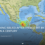 TSUNAMI WARNING ISSUED AFTER MEXICO HIT BY STRONGEST EARTHQUAKE IN A CENTURY