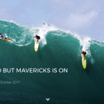 EDDIE WON'T GO BUT MAVERICKS IS ON