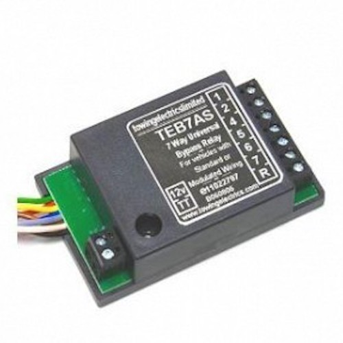 towing electrics limited teb7as wiring diagram 1992 nissan 240sx fuel pump bypass relay for 7 pin motorhome towbar a frame specialist by
