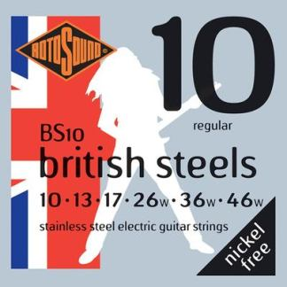 BS10 British Steels guitar strings