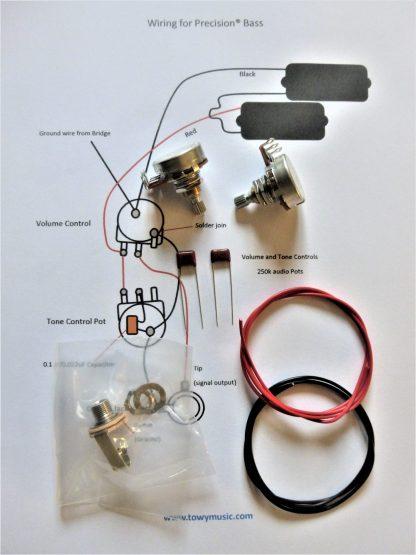 P-Bass wiring upgrade