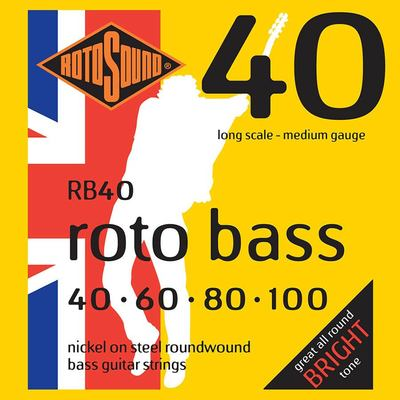 Rotosound RB40 bass strings
