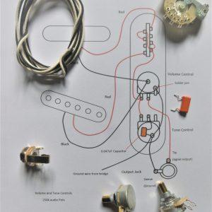 Wiring kit for Tele