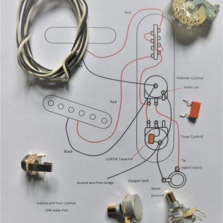 Wiring kit for Tele