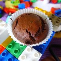 Muffins με χαρουπόμελο
