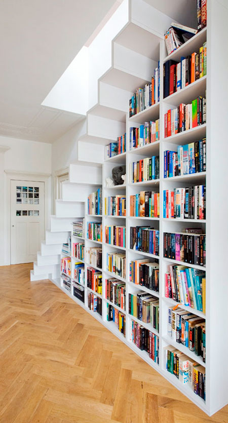 Bookcase Stairs Bookshelf Staircase