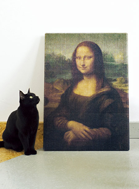 Mona Lisa Cat Scratcher