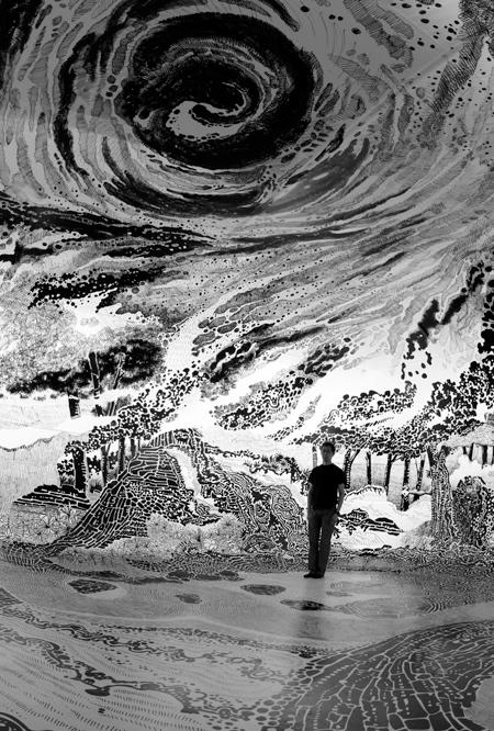 360 Drawing By Oscar Oiwa