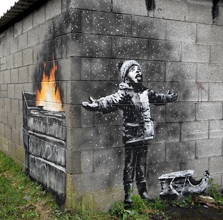 Banksy Seasons Greetings
