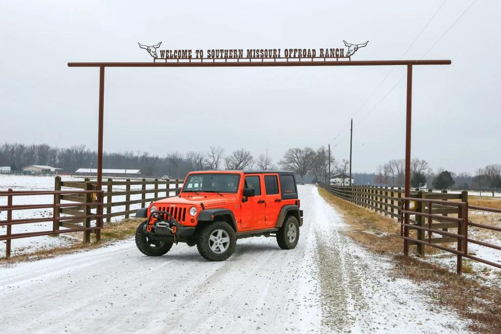 Southern Missouri Offroad Ranch Enterance