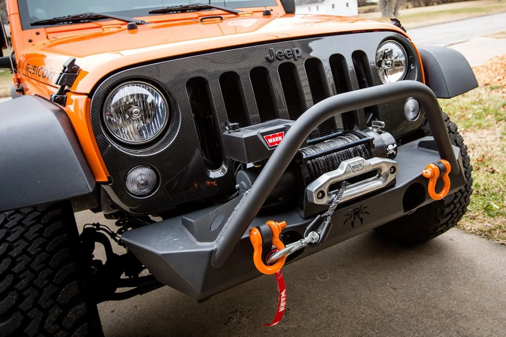 Jeep Warn VR10000s Winch