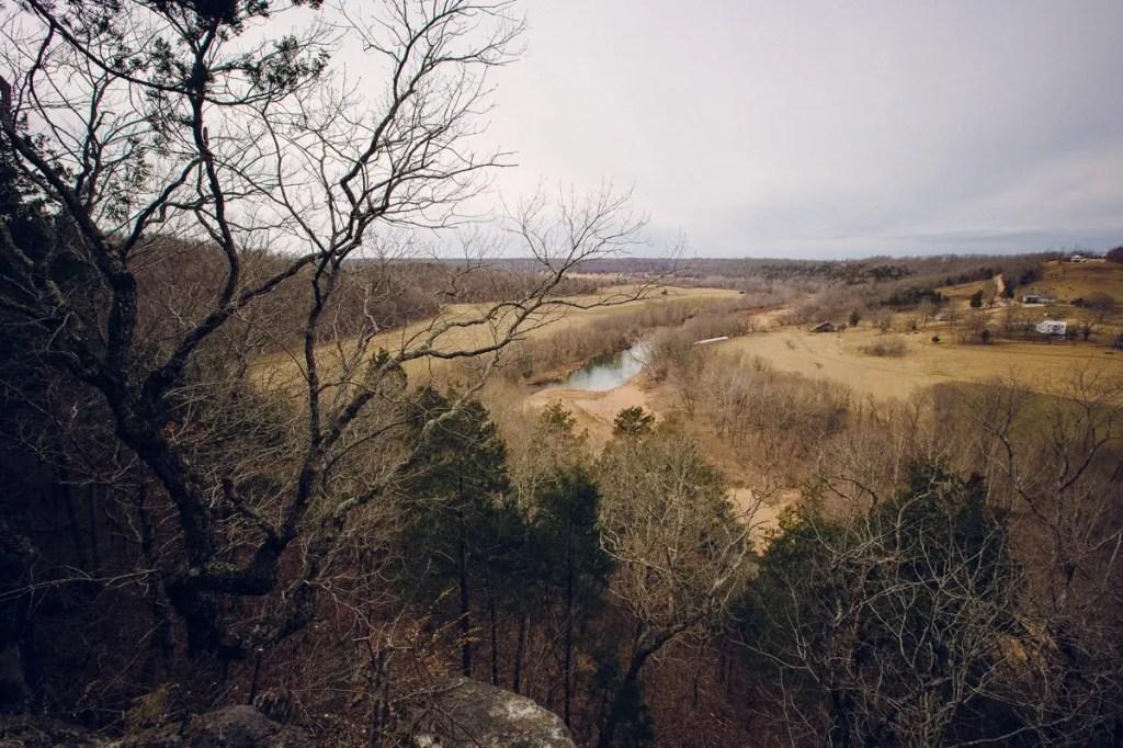 Huzzah Valley Overlook