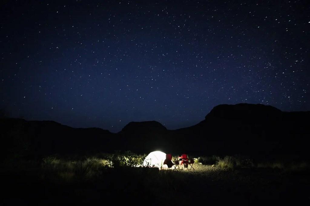 Backcountry Camping at Big Bend