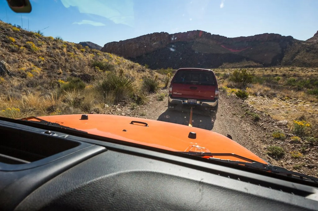 Texas-Big-Bend-jeep-towed