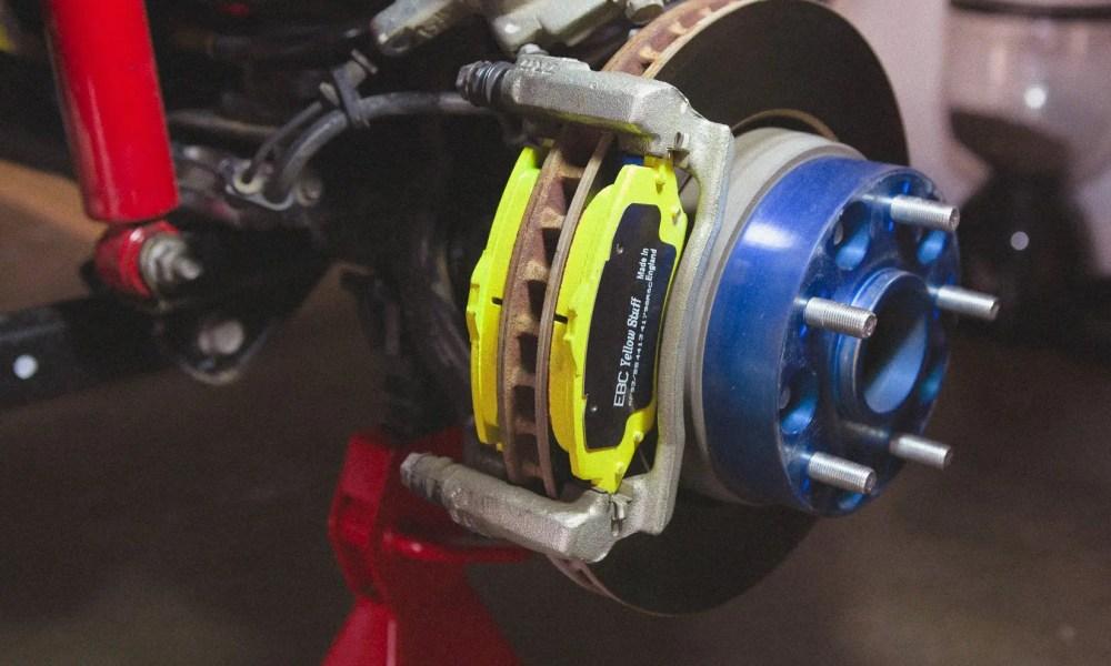 2012 Jeep Wrangler Brake Upgrade