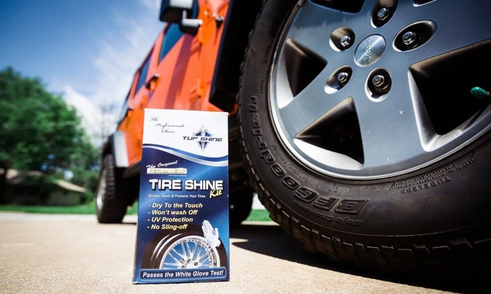 Tuf Shine Permanent Tire Clearcoat