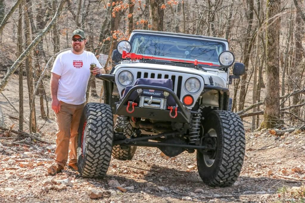 Travis Jeep TJ at Disney Oklahoma