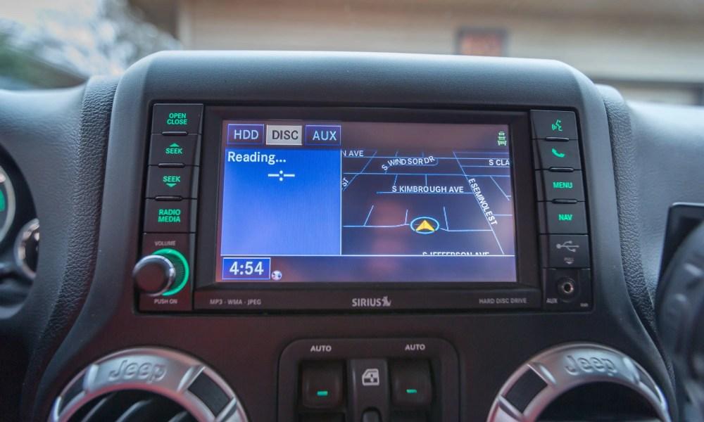 Jeep Navigation Update