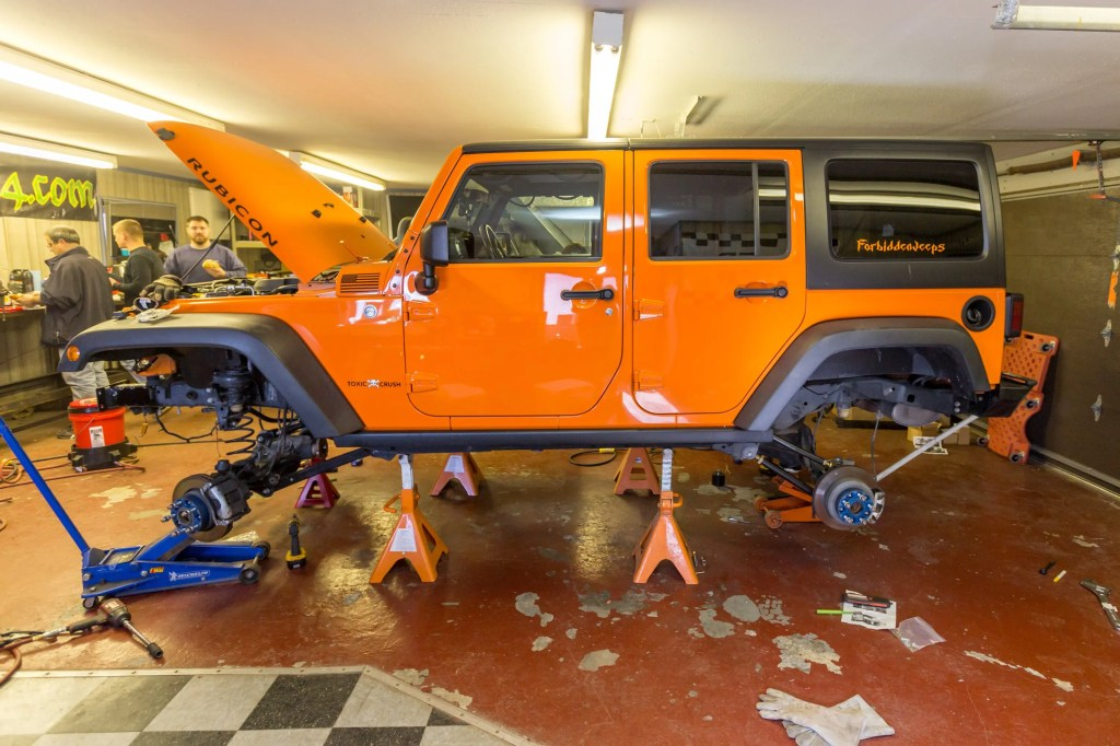 Currie Enterprises suspension system install