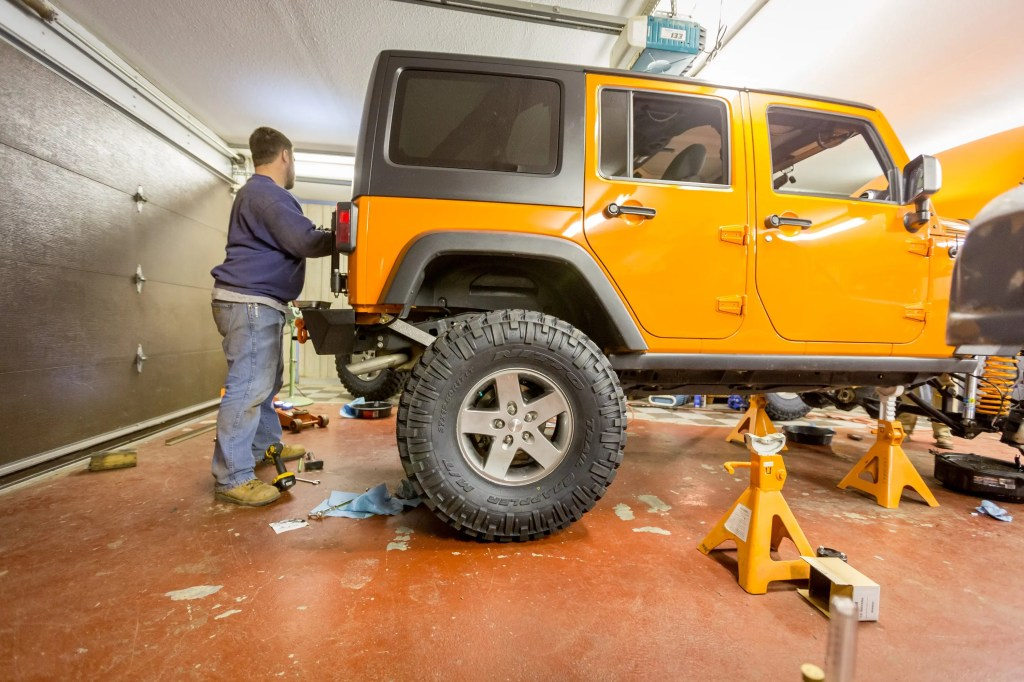 Currie Enterprises suspension system complete