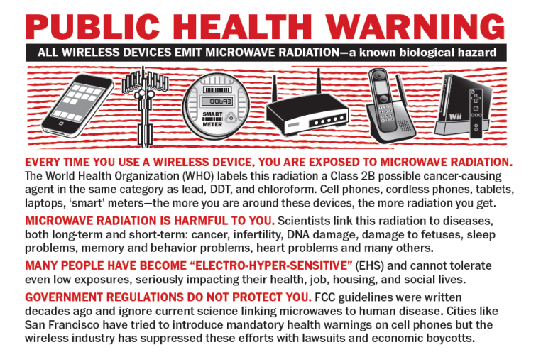 EMFS From Cell Phones Cause Cancer @ ToxicNow.com