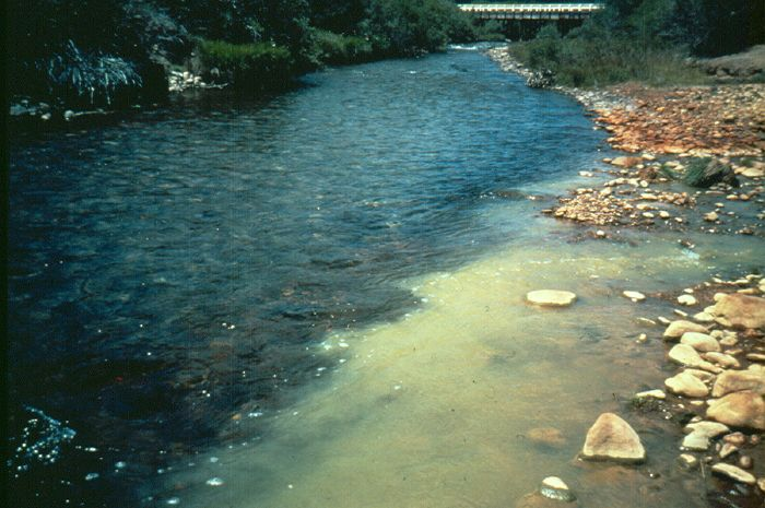 How Do Contaminants Mix At The Confluence Of Streams