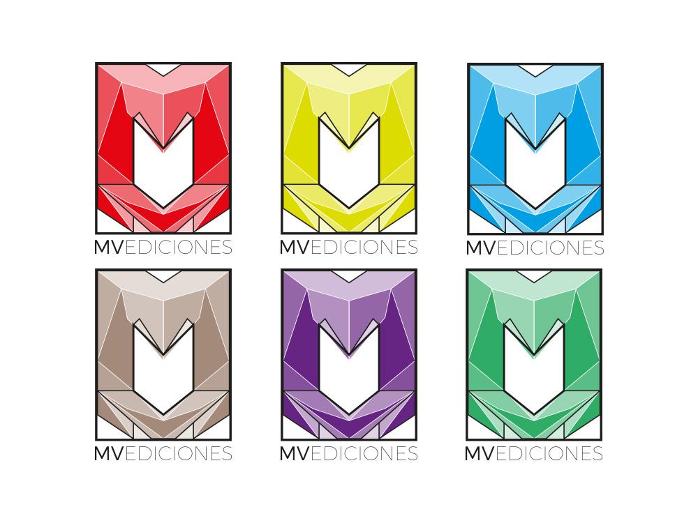 Logotipo MV Editorial