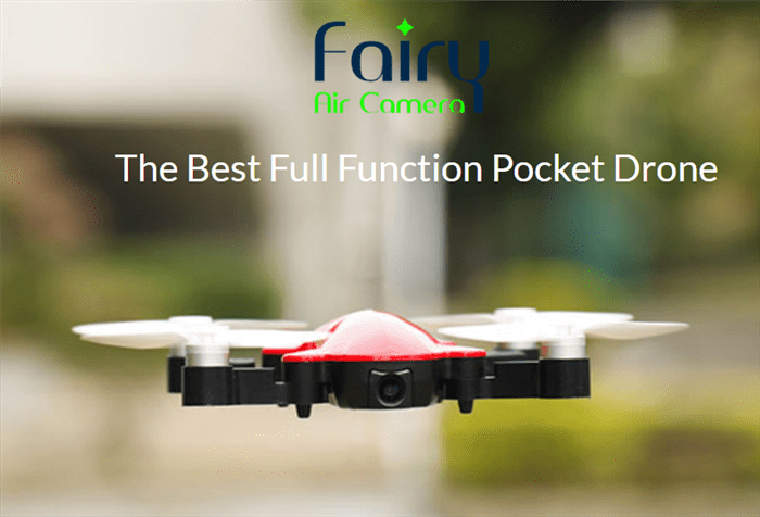 ちょいと考察 Fairy pocket drone
