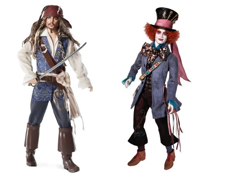Johnny Depp Barbie Dolls