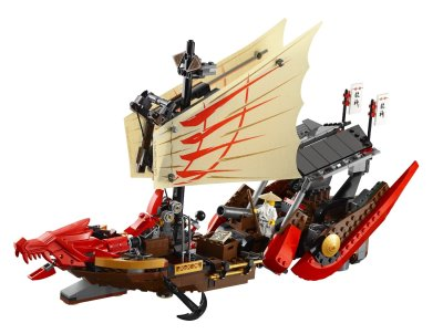 Lego Ship Ninjago Destiny's Bounty