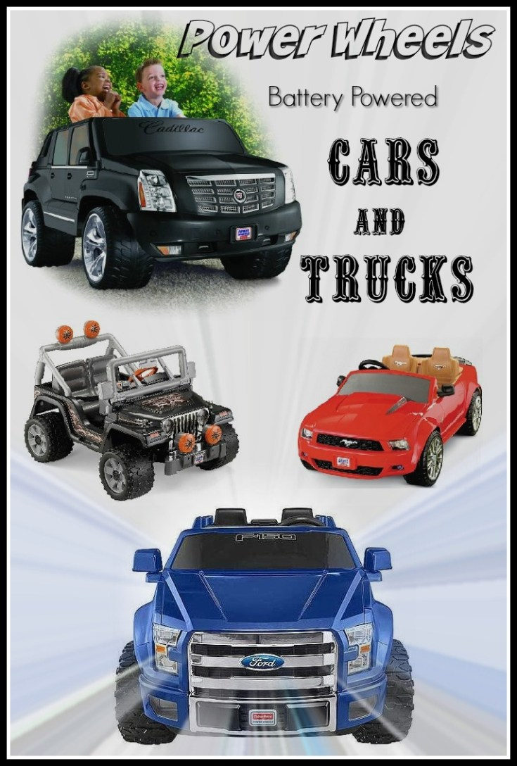 Power Wheels Cars & Trucks