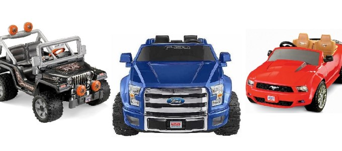 Power Wheels Battery Powered Cars & Trucks