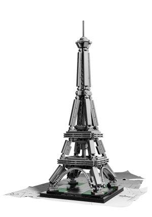 The Eiffel Tower Lego Set