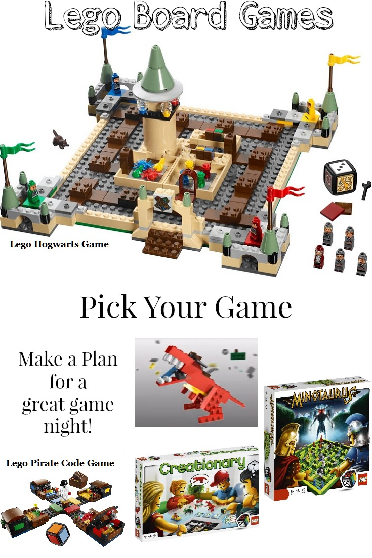 Lego Board Games are Great Fun Building and Playing!