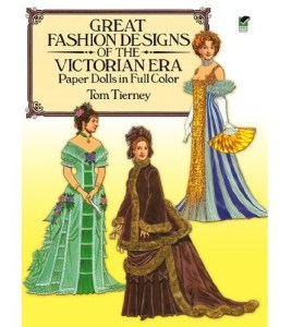 Victorian Paper Dolls books are fun and educational!