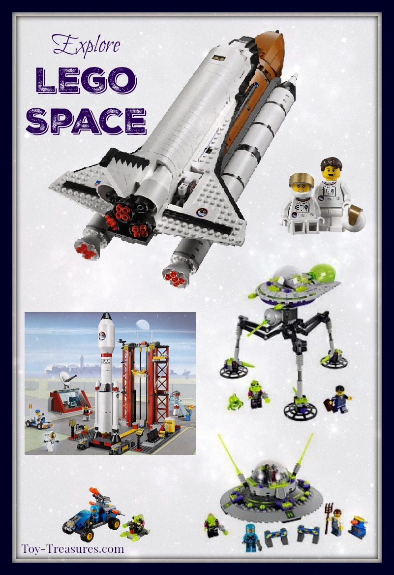 Lego Space Building Sets